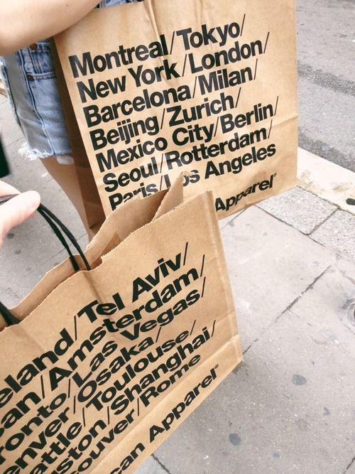 american apparel bags