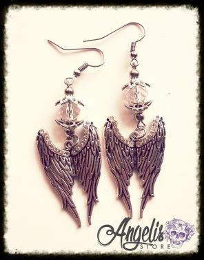 Archangel Wings with Swarovski Crystals