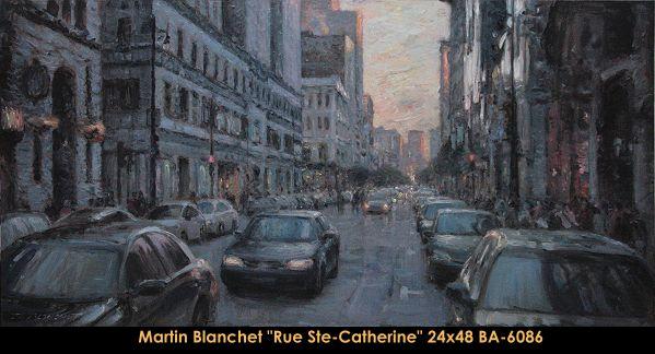Original oil painting on canevas by Martin Blanchet #MartinBlanchet #Artist #CanadianArtist #QuebecArtist #Art #Oilpainting #OriginalPainting #FineArt #CityLandscape #Montreal #Balcondart