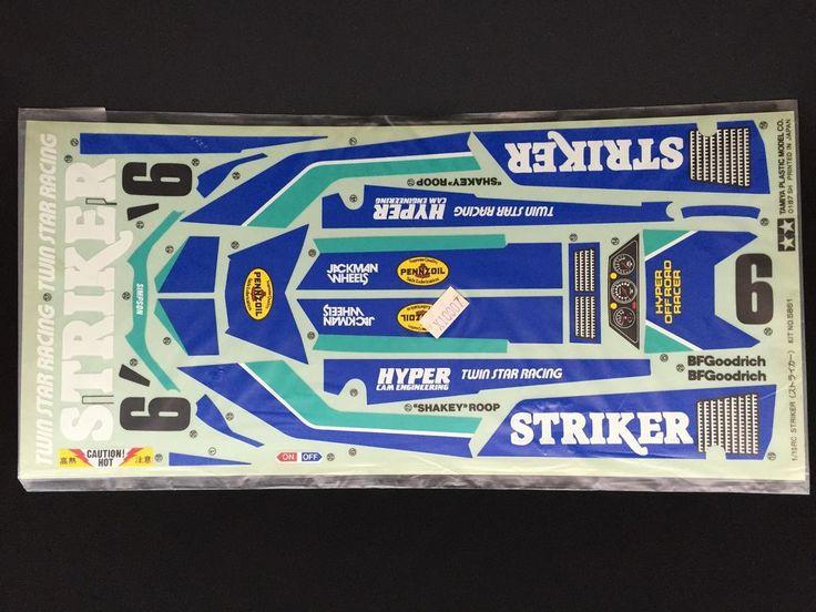 Tamiya Striker Decal Sheet #9495075