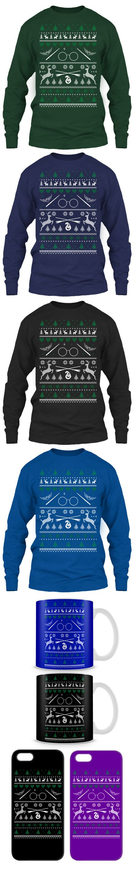 For Harry Potter Fans Ugly Christmas Sweater! Click The Image To Buy It Now or Tag Someone You Want To Buy This For.