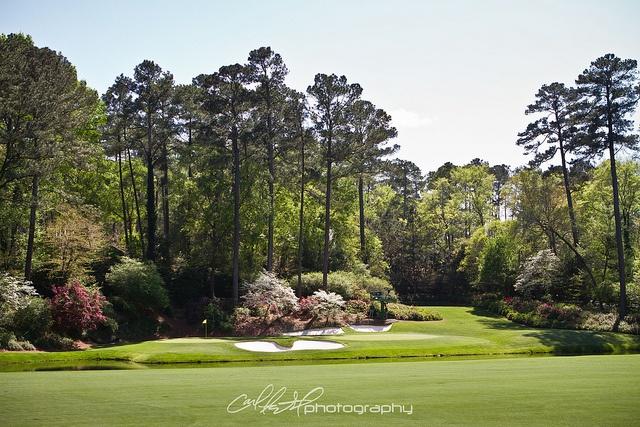 #Amen Corner - 12 Green from Tee http://golfdriverreviews.mobi/golfpictures/ Jim Furyk