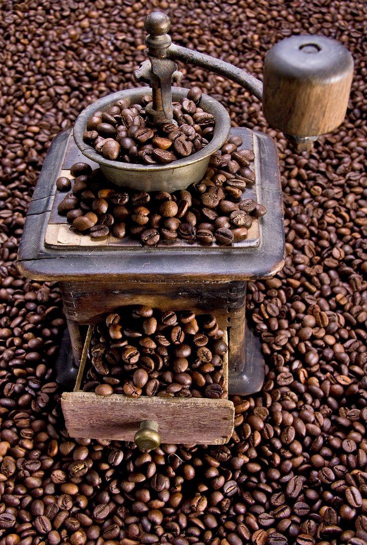 **Old Coffee Grinder (by Caffè Carbonelli)