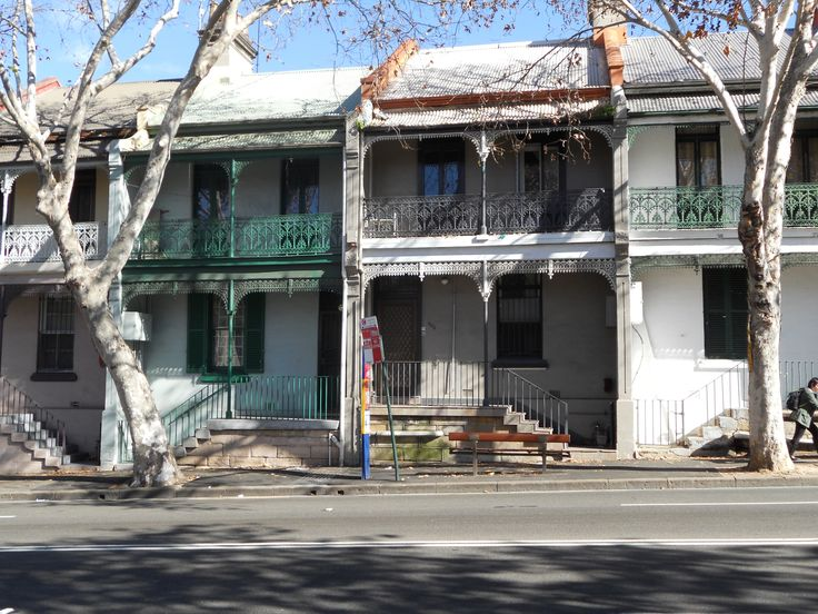 Sydney NSW terraced houses