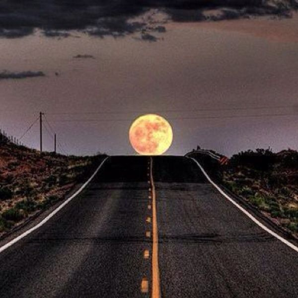 Pretty moon...