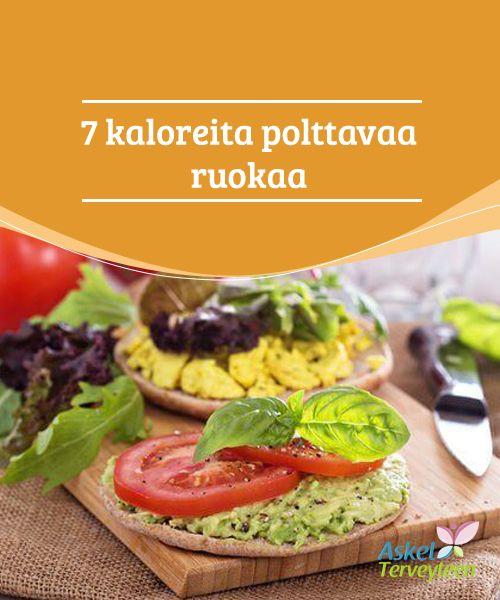 7 kaloreita #polttavaa ruokaa  Kaloreita polttavat ruoat, #kuten artisokat, eivät ainoastaan auta meitä pitämään huolta linjoistamme, vaan myös ylläpitämään terveitä kolesterolitasoja. #laihduttaminen