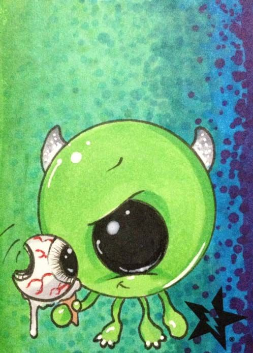Mike Wazowski from Monsters Inc. by Michael Banks (Sugar Fueled)