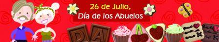 26 de Julio, Dia de los Abuelos! ¡Personaliza aquí tu regalo! http://www.mysweets4u.com/es/?o=2,9,233,0,0,0