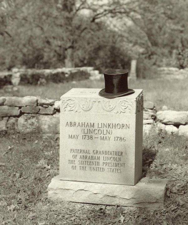 President Lincoln's grandfather & namesake was killed by Indians while…