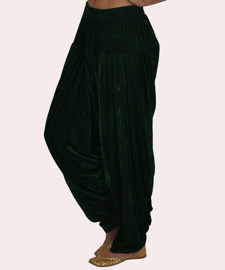 Emerald Green Shahi Patiala ( Full Patiala) Salwar Pants