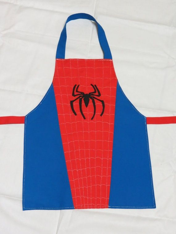 super+hero+aprons+to+make | Kids superhero apron siperman by SMPstore on Etsy, $19.00