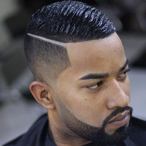 Looking classy with a wave cut, taper and hard Part