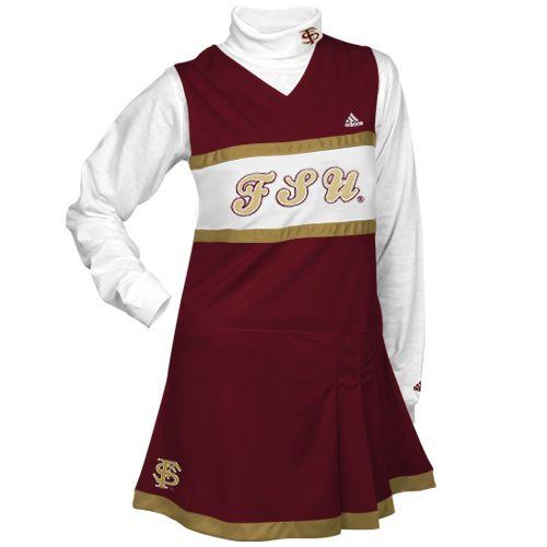 Florida State Seminoles Cheerleader Dress Set