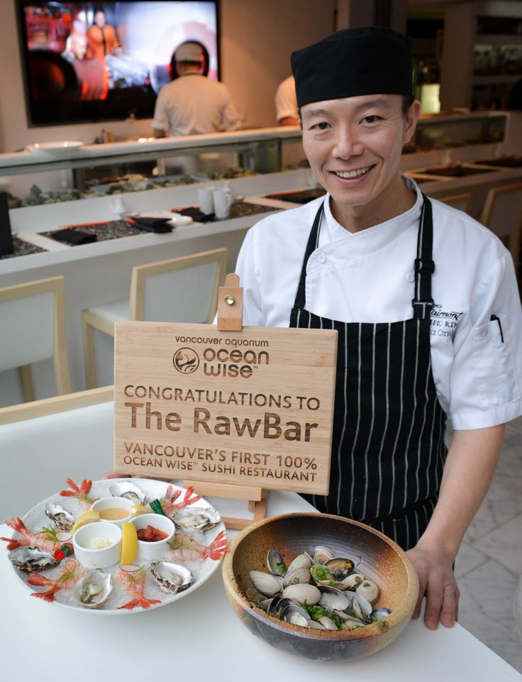 Sushi Chef Taka Omi. Photo by Leila Kwok