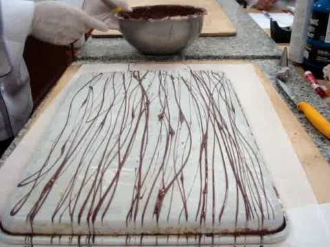 Making Straw Chocolate - YouTube