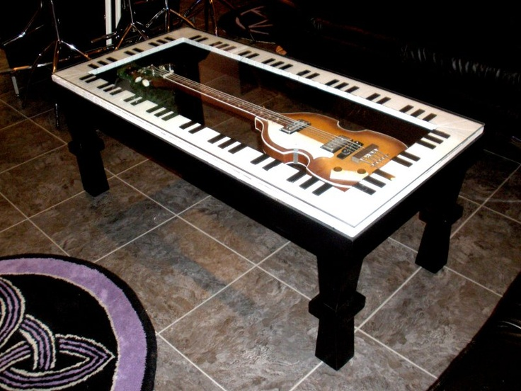 Coffee Table Music Furniture Pinterest Guitar Tables