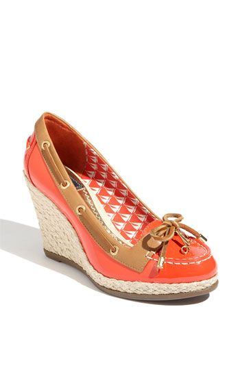 I ordered these!  These are just more updated versions of the classic brown Sperrys I had growing up!  Plus they are Milly!
