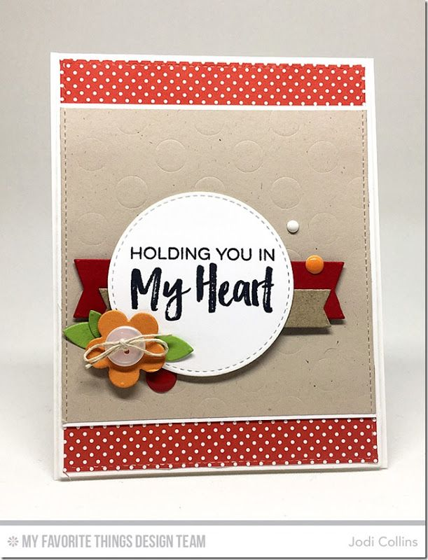 Holding You In My Heart! {CTD419}