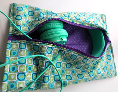 Kopfhörer-Tasche