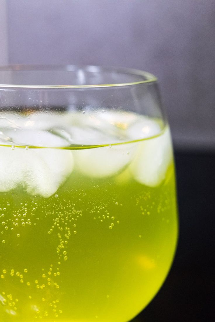 Mountain Dew Screwdriver (a.k.a. the Dew-Driver) made with mountain dew and vodka - so refreshing!
