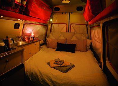 Motorhome Hire New Zealand - Hi-Top Campervan