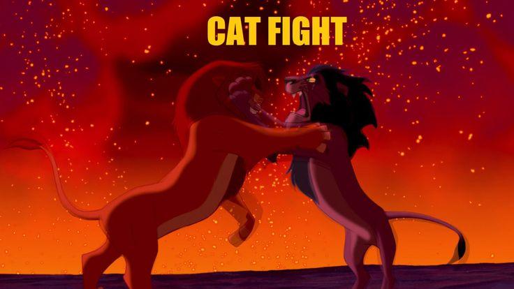Mufasa VS Scar: Cat Fight!    #CatFight #TheLionKing #LionKing #Movie #Disney #Mufasa #Lions #Scar #Cats #Fight #Faceoff #Showdown #DisneyMeme #FunnyCaptions #FunnyPic #Felines #Paws #Disneymovies #Animation #Animatedmovies #Simba