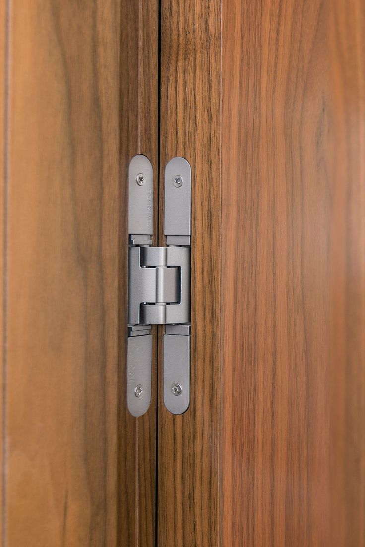 761 best hardware images on pinterest front doors - Hidden hinges for exterior doors ...