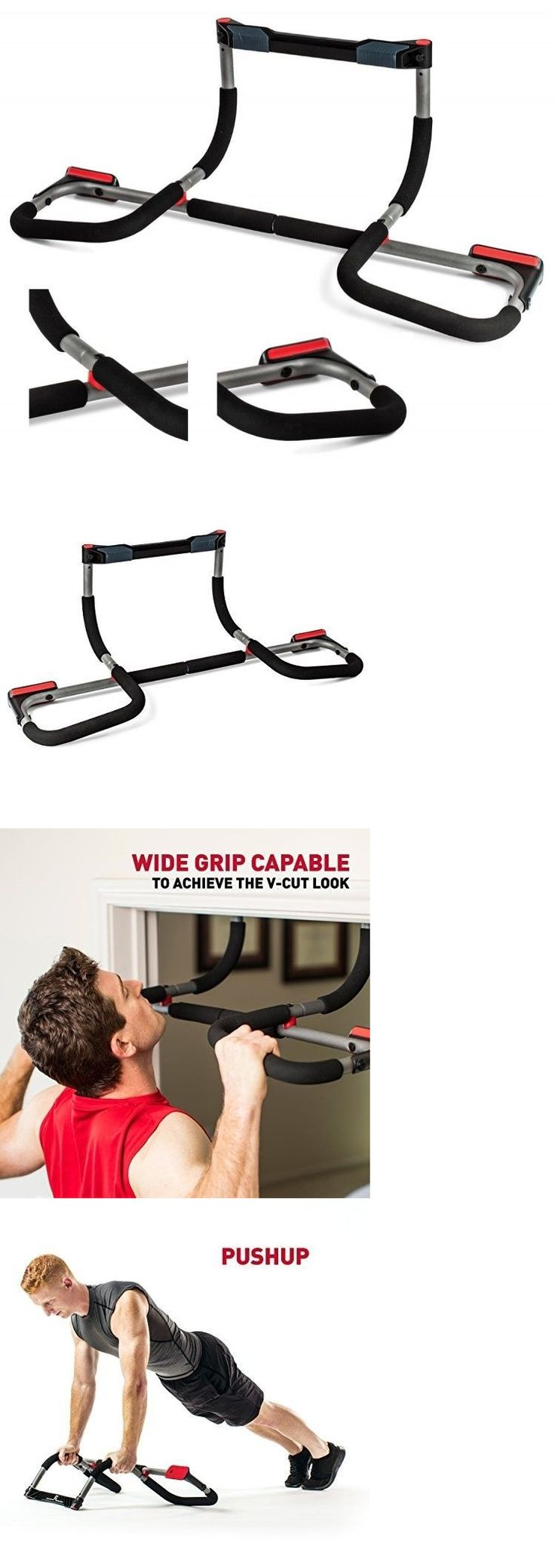 Pull Up Bars 179816: Doorway Pull Up Bar Home Gym Fitness Workout Exercise Door Mounted Equipment New -> BUY IT NOW ONLY: $73.92 on eBay!