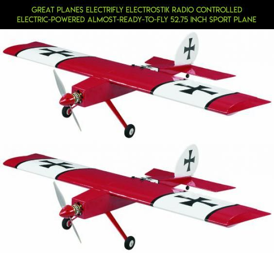 Great Planes ElectriFly ElectroStik Radio Controlled Electric-Powered Almost-Ready-to-Fly 52.75 Inch Sport Plane #gadgets #planes #racing #plans #technology #great #camera #rc #shopping #drone #parts #products #fpv #tech #kit