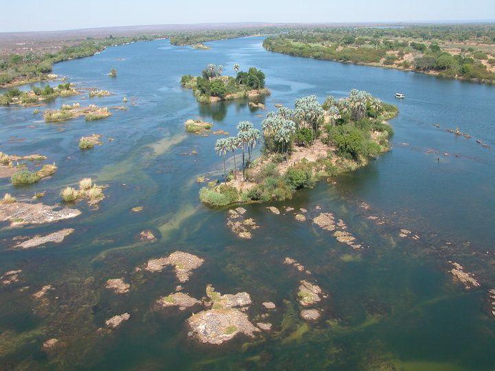 The Zambezi from above
