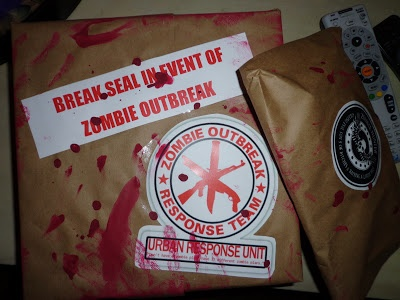 97 best zombies images on pinterest zombies survival apocalypse make a zombie survival kit to celebrate season 3 finale of the walking dead and negle Image collections