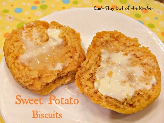 Sweet Potato Biscuits - IMG_5227 | I Love Food | Pinterest