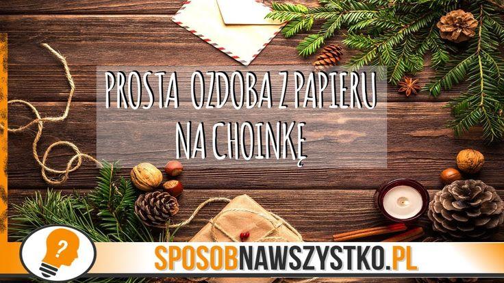 Jak zrobić ozdoby choinkowe z papieru? - # #BożeNarodzenie #Bożenarodzenieozdoby #Dekoracjebożonarodzeniowe #Filmy #jakzrobićozdobynachoinkę #Origami #Ozdoby #Ozdobynachoinkę #ozdobynachoinkędiy #Ozdobyzpapieru #Papier #Święta #Zróbtosam