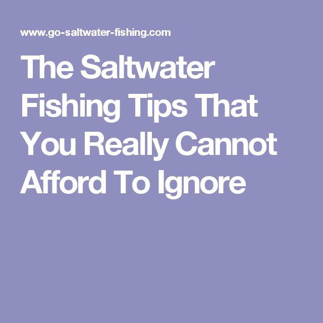 Best 25 saltwater fishing ideas on pinterest fishing for Saltwater fishing tips