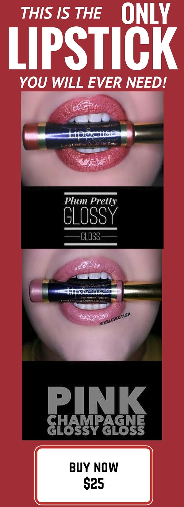 Looking for the best liquid lipstick on the market? Look no further! LipSense is long lasting (up to 18 hours with 1 application), waterproof, smudge-proof and kiss-proof! It is the BEST liquid lip color you will find and it is backed up by our 100% money back guarantee! BUY NOW at http://www.colormylips.net/lipsense-colors. REMEMBER ONE TUBE OF LIPSENSE LASTS AS LONG AS 4 TRADITIONAL LIPSTICKS!