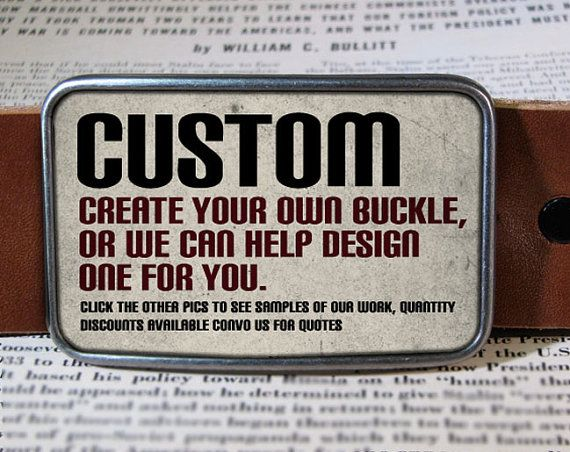 Custom belt buckle  specialzed belt buckle CUS by reganflegan, $19.00