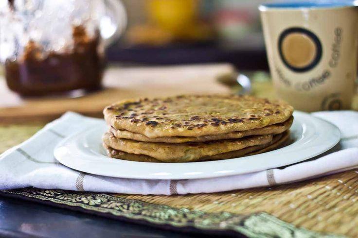 Aloo Parathas | Spiced Indian Potato Flat Bread