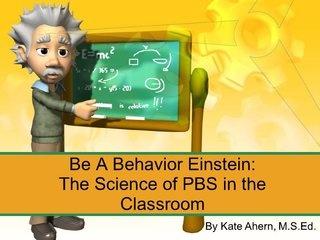 Be a behavior Einstein..cool PBS guide!