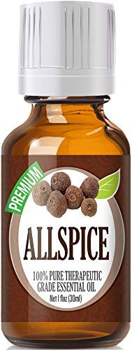 Allspice (30ml) 100% Pure, Best Therapeutic Grade Essential Oil - 30ml / 1 (oz) Ounces -- Check this awesome image  : ginger essential oil