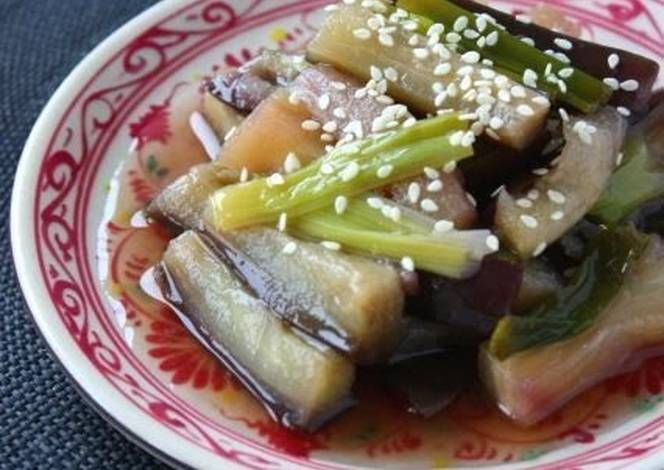 Easy Microwaved Dish - Eggplant in an Asian Marinade Recipe -  How are you today? How about making Easy Microwaved Dish - Eggplant in an Asian Marinade?