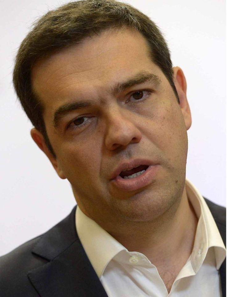 Citaten Van Bekende Personen : Premier alexis tsipras phn van griekenland