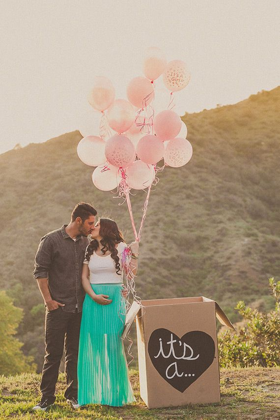 Baby girl gender reveal announcement | Yuna Leonard | 100 Layer Cakelet
