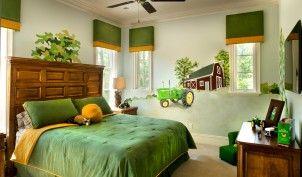 28 - John Deere Bedroom