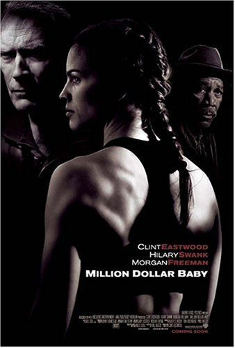 Million Dollar Baby [DVD] [2005]: Amazon.co.uk: Hilary Swank, Clint Eastwood, Morgan Freeman, Jay Baruchel, Mike Colter, Lucia Rijker, Brían F. O'Byrne, Anthony Mackie, Margo Martindale, Riki Lindhome, Michael Peña, Benito Martinez, Albert S. Ruddy, Gary Lucchesi, Paul Haggis, Robert Lorenz, F.X. Toole: DVD & Blu-ray