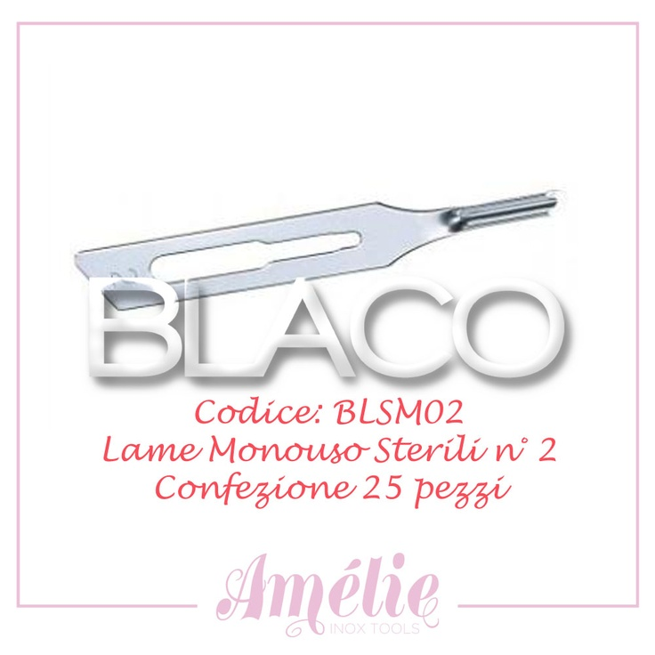 Amelie inox tools sgorbia box 25pz num. 2