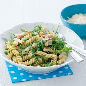 27 maart - Rucola in de bonus - Recept - Pasta pesto met rucola - Allerhande
