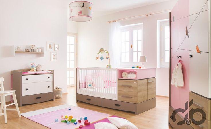 Newjoy Pink Birdy  bebek odası takımı 2.909 TL
