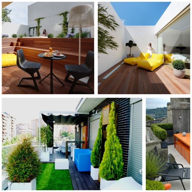 Best 25 decoracion de terrazas peque as ideas on pinterest jardines de casas peque as - Jardines para casas pequenas ...