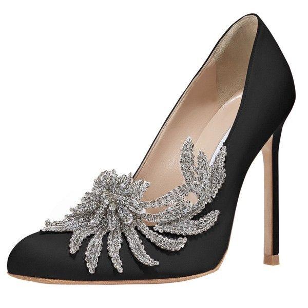 manolo blahnik swan shoes price