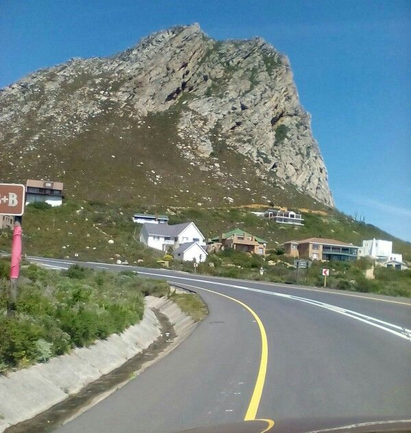 South Africa, False Bay, Rooi Els a small town across Cape Point!